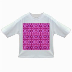 Pretty Pink Flower Pattern Infant/Toddler T-Shirts