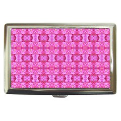 Pretty Pink Flower Pattern Cigarette Money Cases