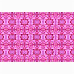 Pretty Pink Flower Pattern Collage 12  x 18
