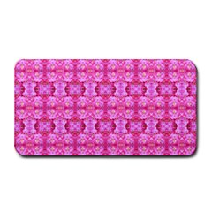 Pretty Pink Flower Pattern Medium Bar Mats