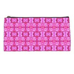 Pretty Pink Flower Pattern Pencil Cases