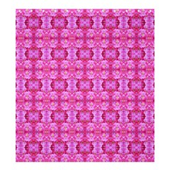 Pretty Pink Flower Pattern Shower Curtain 66  x 72  (Large)