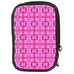 Pretty Pink Flower Pattern Compact Camera Cases
