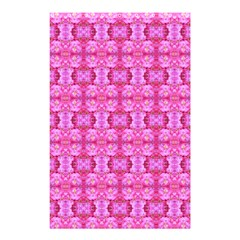 Pretty Pink Flower Pattern Shower Curtain 48  x 72  (Small)