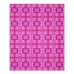 Pretty Pink Flower Pattern Shower Curtain 60  x 72  (Medium)