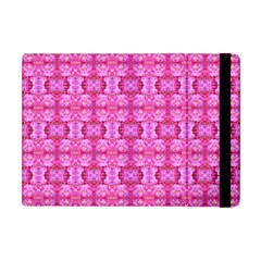 Pretty Pink Flower Pattern Apple iPad Mini Flip Case