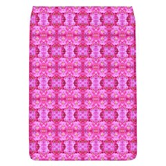 Pretty Pink Flower Pattern Flap Covers (L)