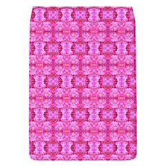 Pretty Pink Flower Pattern Flap Covers (S)