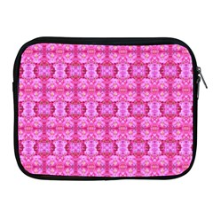 Pretty Pink Flower Pattern Apple iPad 2/3/4 Zipper Cases