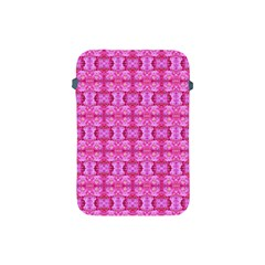 Pretty Pink Flower Pattern Apple iPad Mini Protective Soft Cases