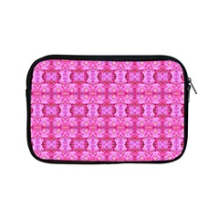 Pretty Pink Flower Pattern Apple iPad Mini Zipper Cases