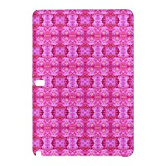 Pretty Pink Flower Pattern Samsung Galaxy Tab Pro 12 2 Hardshell Case by Costasonlineshop
