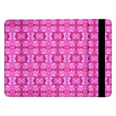 Pretty Pink Flower Pattern Samsung Galaxy Tab Pro 12.2  Flip Case