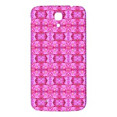 Pretty Pink Flower Pattern Samsung Galaxy Mega I9200 Hardshell Back Case