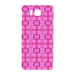 Pretty Pink Flower Pattern Samsung Galaxy Alpha Hardshell Back Case