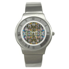 Kaleidoscope Jewelry  Mood Beads Stainless Steel Watches