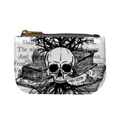 Skull & Books Mini Coin Purses