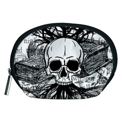 Skull & Books Accessory Pouches (medium)