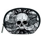Skull & Books Accessory Pouches (Medium)  Front