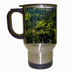 Las Lajas Sanctuary 1 Travel Mugs (white) by trendistuff