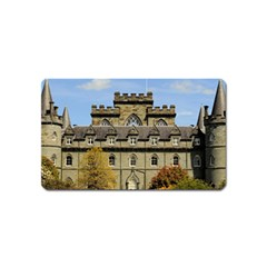 Inveraray Castle Magnet (name Card) by trendistuff