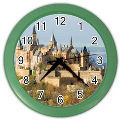 Hilltop Castle Color Wall Clocks by trendistuff