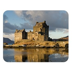 Eilean Donan Castle Double Sided Flano Blanket (large)
