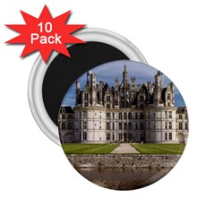 Chambord Castle 2 25  Magnets (10 Pack)  by trendistuff