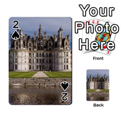 Chambord Castle Playing Cards 54 Designs  by trendistuff