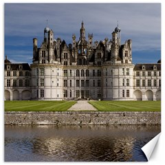 Chambord Castle Canvas 12  X 12   by trendistuff