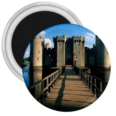 Bodiam Castle 3  Magnets by trendistuff