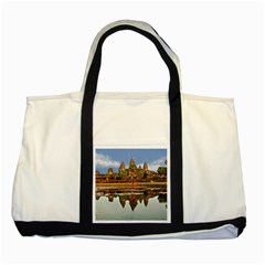 Angkor Wat Two Tone Tote Bag  by trendistuff