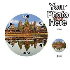 Angkor Wat Playing Cards 54 (round)  by trendistuff