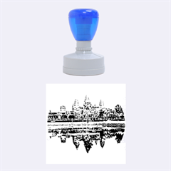 Angkor Wat Rubber Round Stamps (medium)