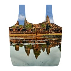 Angkor Wat Full Print Recycle Bags (l)  by trendistuff