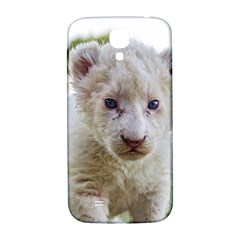 White Lion Cub Samsung Galaxy S4 I9500/i9505  Hardshell Back Case by trendistuff