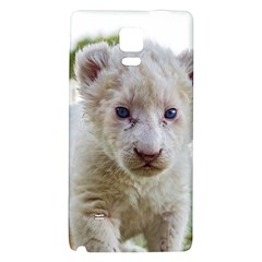 White Lion Cub Galaxy Note 4 Back Case by trendistuff