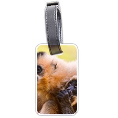 Two Monkeys Luggage Tags (two Sides) by trendistuff