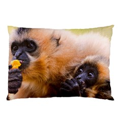 Two Monkeys Pillow Cases (two Sides) by trendistuff