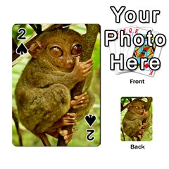 Tarsier Playing Cards 54 Designs  by trendistuff