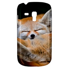 Baby Fox Sleeping Samsung Galaxy S3 Mini I8190 Hardshell Case by trendistuff