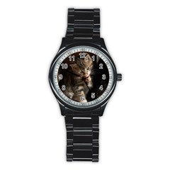 Talk To The Paw Stainless Steel Round Watches by trendistuff