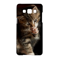 Talk To The Paw Samsung Galaxy A5 Hardshell Case  by trendistuff