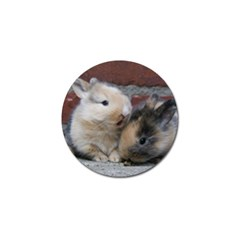 Small Baby Rabbits Golf Ball Marker (4 Pack)