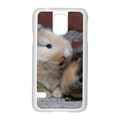 Small Baby Rabbits Samsung Galaxy S5 Case (white) by trendistuff