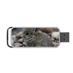 Small Baby Bunny Portable Usb Flash (two Sides)