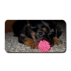 Puppy With A Chew Toy Medium Bar Mats by trendistuff