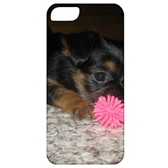 Puppy With A Chew Toy Apple Iphone 5 Classic Hardshell Case by trendistuff