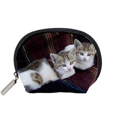 Kitty Twins Accessory Pouches (small)  by trendistuff