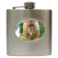 Cute Wrinkly Puppy Hip Flask (6 Oz) by trendistuff